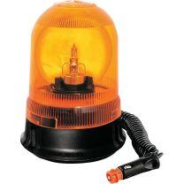 Zwaailamp 12 volt 120 omw/min oranje zuign/magneetv met lamp