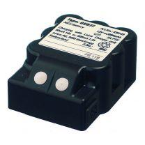 GEB77 insteekbatterij NiCd, 12V/600mAh, oplaadbaar