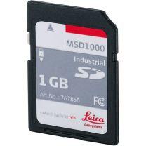 MSD1000, industrial grade SD memory card 1GB