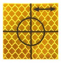 Retro Tape Targets 40x40 mm oranje (p. st.)