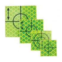 Retro Tape Targets 40x40 mm geel (p. st.)