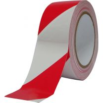 Afzetband rol rood/wit 500 m scheurvast