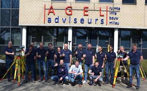 Nieuwe landmeetkundige instrumenten voor AGEL adviseurswerkveld Geodesie!